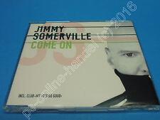 """5"""" CD SINGLE Jimmy Somerville-come on (j-233) 4 tracks EU 2004"""