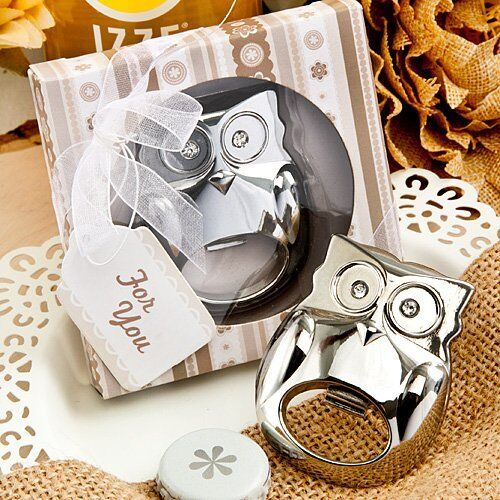 43  Owl Bottle Opener Favor Owl Themed Party Wedding Favor Bridal Shower Favors