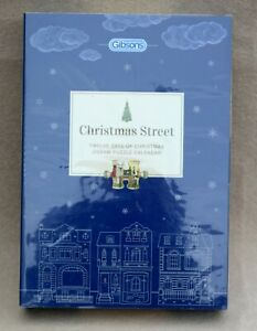 GIBSONS-12-Days-Of-Christmas-christmas-Street-Jigsaw-Puzzle-Calender-12-x-80-Pcs