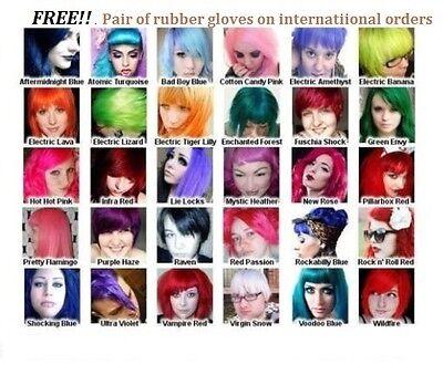 MANIC PANIC CLASSIC Semi-Permanent Vegan Hair Dye Color 4 oz Jar Creative Colors