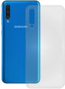 PEDEA-Soft-TPU-Case-fuer-Samsung-Galaxy-A50-transparent-Schlankes-Design-NEU