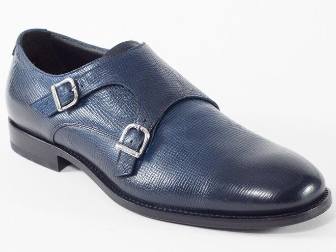 negozio d'offerta New Baldinini Navy Leather Made in  scarpe Dimensione 41 41 41 US 8  scelta migliore
