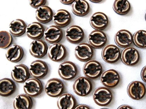 Boutons Messieurs dans de nombreuses couleurs 10 mm Diamètre k53 15 Boutons