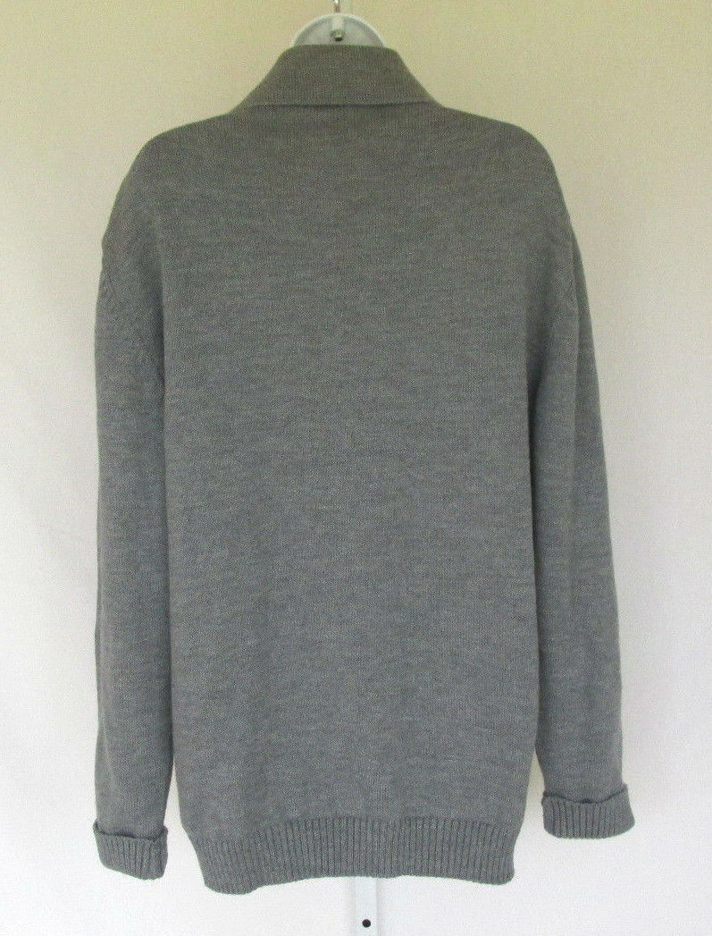 Vintage Sweater with Cravat Ascot Medium  Large 70s Hippy Indie Cream Knit Sweater