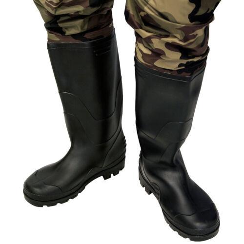 100/% Wasserdicht Nylon Camo Karpfen Fliegenfischen Wathose PVC Stiefel Größen