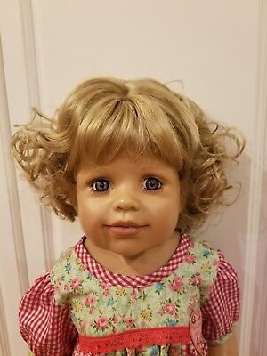 """NWT Monique Melinda Light Brown Doll Wig 16-17/"""" fits Masterpiece Doll WIG ONLY"""