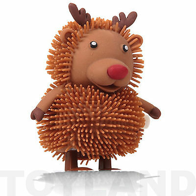 CHRISTMAS HOPPERS REINDEER SANTA SNOWMAN CLOCKWORK TOY XMAS GIFT STOCKING FILLER