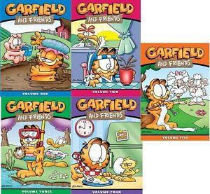 garfield and friends series complete season vol 1 2 3 4 5