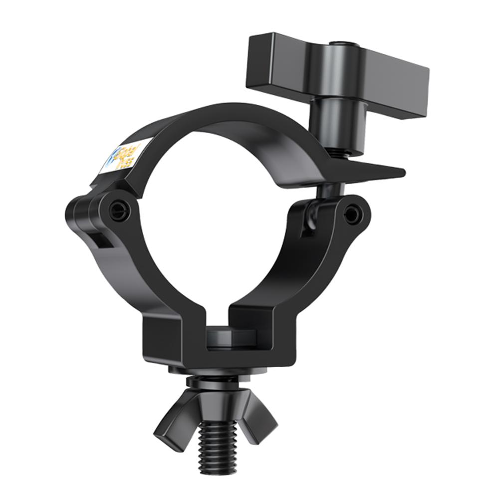 Global Truss Pro Half Coupler Black 100G SWL Lighting Clamp Truss Stand
