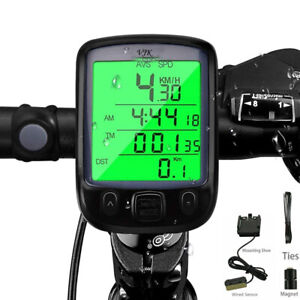 Cableado Cuentakilómetros de Bicicleta Impermeable Bici Velocímetro  ES