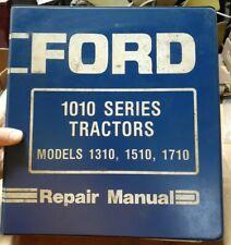 Ford Tractor Repair Manual 1010 Series Models 1310 1510 1710