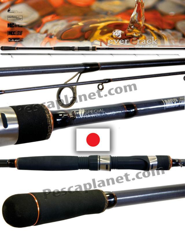 NM21002024 Canna Pesca Spinning Nomura Never Cranck 240 cm Spigola Trota Ba PP