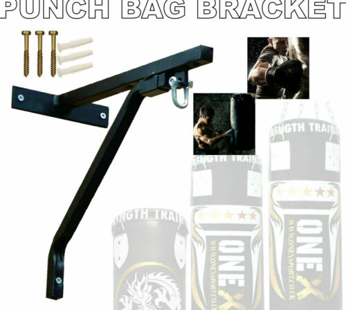 """Punch Bag Support Bars 18/"""" Bracket steel hanging chain Boxing MMA Martial arts"""