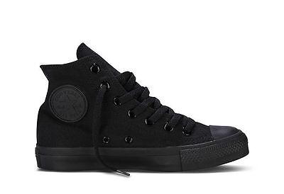 Converse Chuck Taylor All Star Black Monochrome HI High M3310 Trainer NEW**
