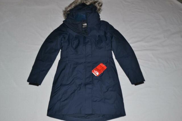396677719 The North Face Women's Arctic Parka II Urban Navy 2xl XXL Authentic