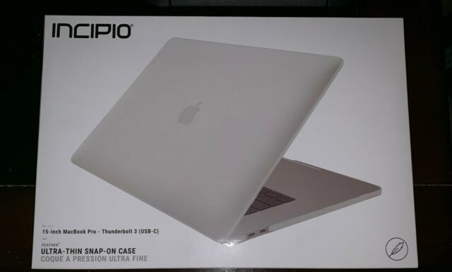 new product 53571 01e4d Incipio Thin Protective Hard Shell Case MacBook Pro 15 Clear 2016 A1707  Armour