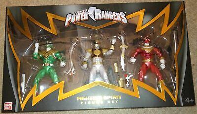 40257 NYCC 2017 Power Rangers Fighting Spirit Three Figure set BNIB Rare
