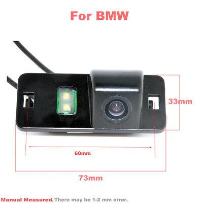 Rear View Camera for BMW 1//3//5//6 X6 X5 E39 E81 E90 E91 E92 E60 E61 E70 E71