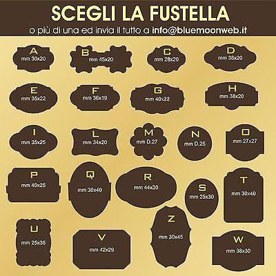 Etichette personalizzate ChiudiPacco GOLD//SILVER in sole 24ore 1000 Bollini