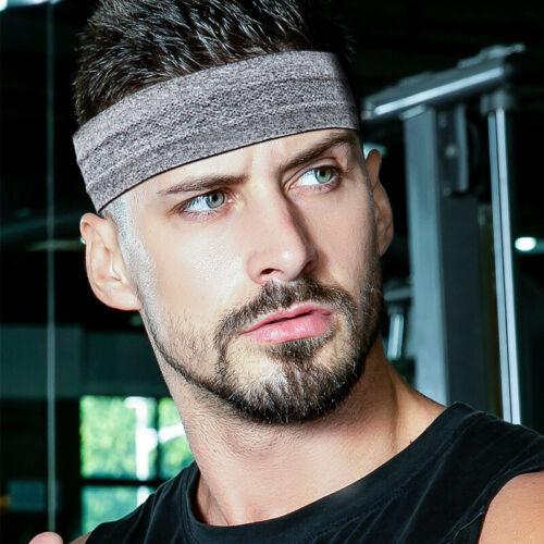 Unisex Schweißband Sport Fitness Jogging Laufen Stirnband Headband sofort SK002