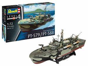 Revell-1-72-05165-Patrol-Torpedo-Boat-PT-588-PT-57-Model-Ship-Kit