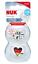 Nuk-2-Beruhigungssauger-Schnuller-Freestyle-Herz-Fussball-gr-6-18-18-36