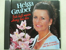 Helga Gruber - Ich laß mein Herz bei dir - CD Rarität - TOP Zustand