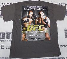 Anderson Silva Signed Original UFC 77 Shirt PSA/DNA COA Auto'd v Rich Franklin
