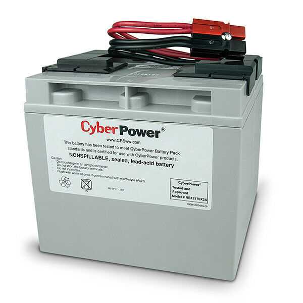 CyberPower RB12170X2A UPS battery Sealed Lead Acid (VRLA) 12 V 17 Ah