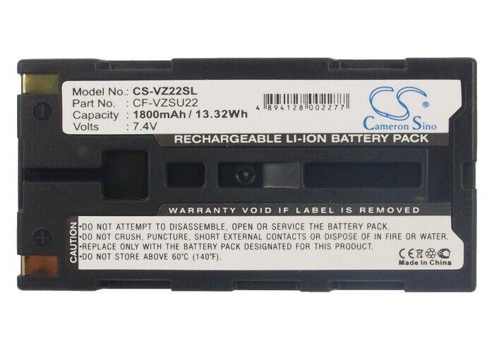 Cameron SinoPDA, Pocket PC BatteryCS-VZ22SL for  Panasonic  Tunghbook 01, Tunghbook CF-P1