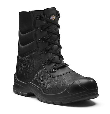 Dickies Caspian Fur Lined Safety Work Boots Black (sizes 3-14) Men's Shoes