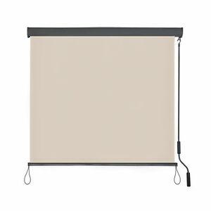 Seitenzugmarkise Seitenmarkise Sichtschutz Schichtschutzwand 120x250 cm  B-Ware