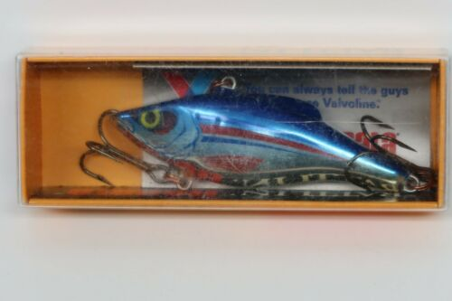 Rapala Rattln Rap 7 Valvoline Advertising Fishing Lure USA!