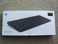 Brand Hp Touchpad Wireless Bluetooth Keyboard Fb344aaac3