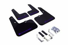 Rally Armor Black Mud Flap w/ Blue Logo For 12-16 Hyundai Veloster