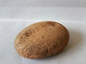 ABORIGINAL - STONE MULLER WITH PITTED TOP SECTION - OLD COLLECTION