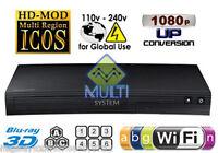 Samsung J5900 Multi Zone All Region Free Dvd 3d Blu-ray Disc Player Wifi Support