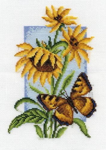 B-0118 butterfly Cross Stitch Kit Tortoiseshell