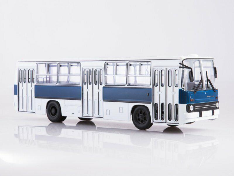 auténtico Colección Escala Modelo 1 43, Ikarus - 260 blancoo blancoo blancoo y Azul  ventas en linea
