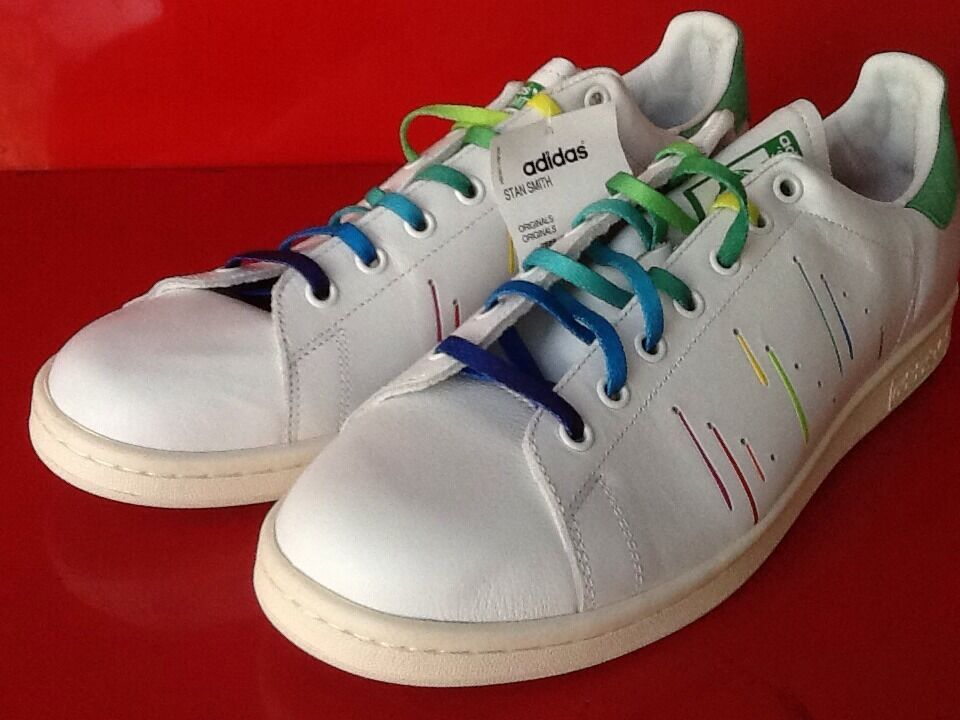 Adidas Originals Stan Smith Pride Pack D70352 Größe 13