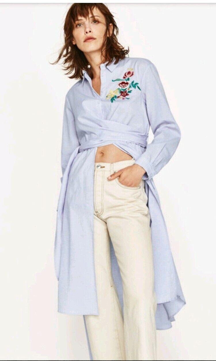 Camicia Blusalina Classic Azzurro Righe 100% cotone collo Button down Manica lunga