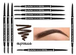 nyx micro brow pencil black