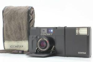 NEAR-MINT-w-Case-Contax-T-Black-Rangefinder-35mm-Film-Camera-From-JAPAN