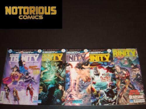 Trinity 12 13 14 15 16 Complete Rebirth Comic Lot Run Set DC EXCELSIOR BIN