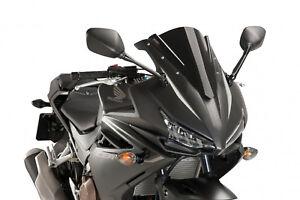 Puig Racing Screen Honda Cbr500r 16 18 Black 8903000000785 Ebay