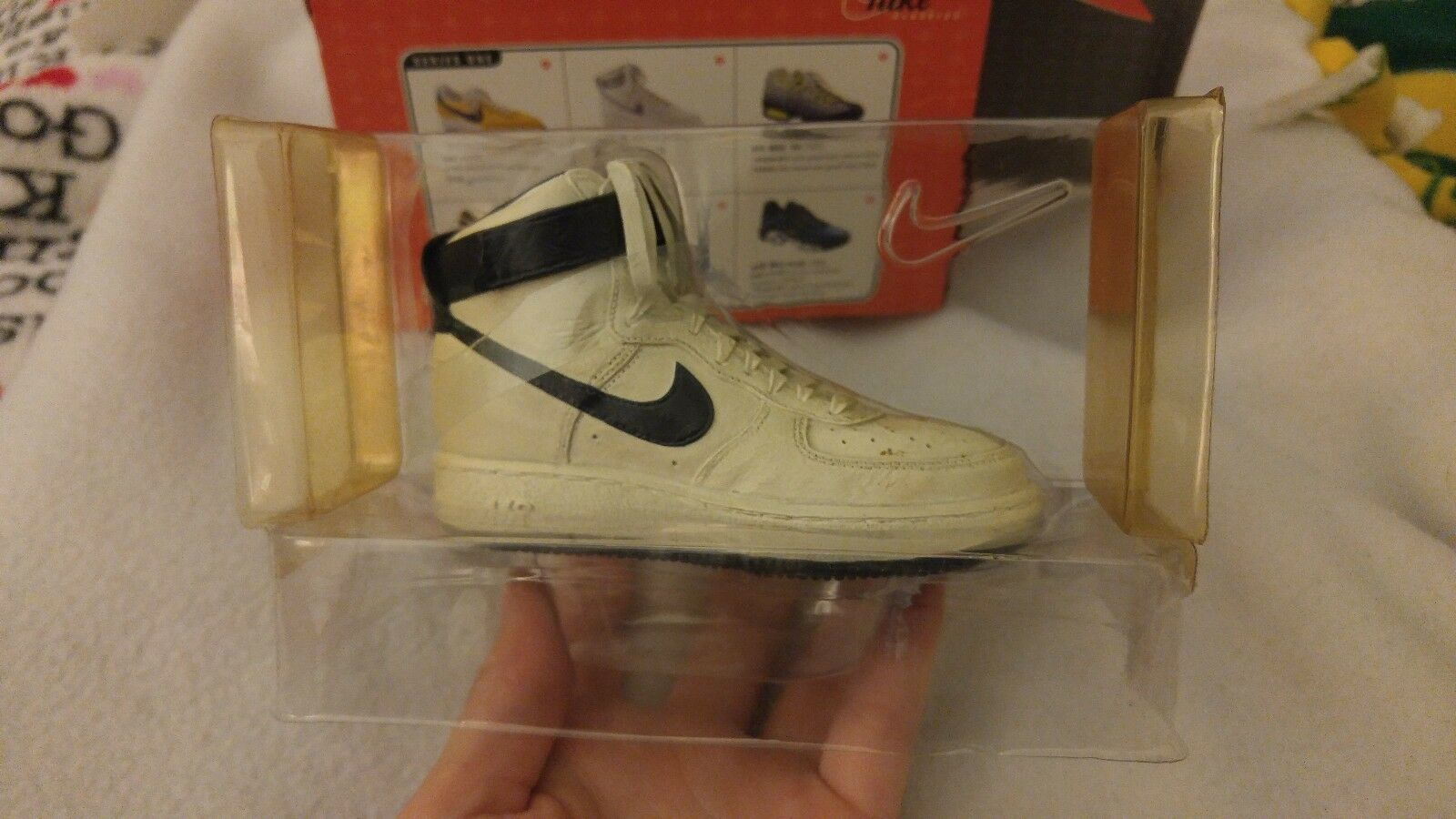 Nike Air Force 1 Collectible Shoe White Royal Blue Rare
