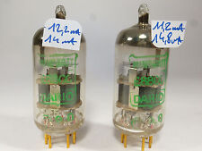 one pair E88CC Philips, same code, similar E188CC gold pin NOS
