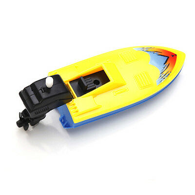 Summer Outdoor Pool Ship Toy Wind Up Swimming Motorboat Boat Toy For Children LY