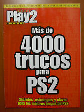 Más de 4000 trucos para PS2: secretos, estrategias y claves... de Play2Manía