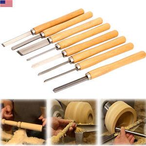 Pro Hss High Speed Steel Wood Turning Lathe Tools Chisel Gouge